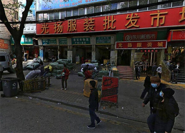 广州服装批发市场 广州光扬服装批发市场