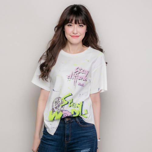 品牌女装折扣T恤衫走份批发  (31)