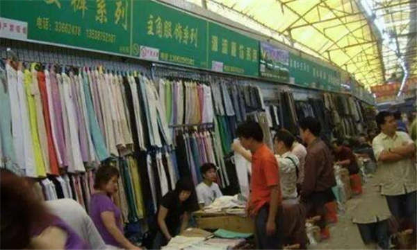 哈尔滨双城服装布匹批发市场